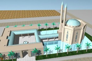 EMIRATES HILLS MOSQUE COMPETITION DUBAI UAE - 2004 B